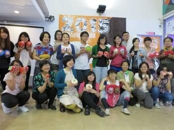 台灣女孩日  高雄女孩創意發聲做自己