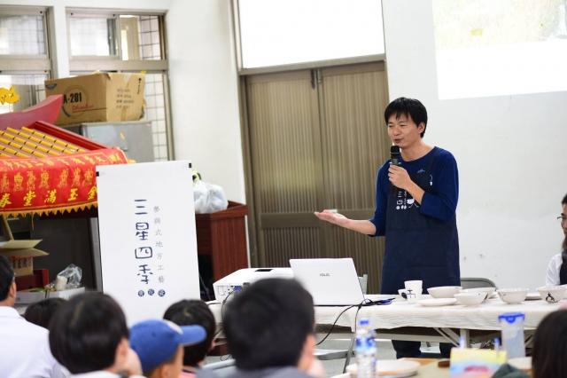 李哲榮老師講解課程。(李哲榮提供)
