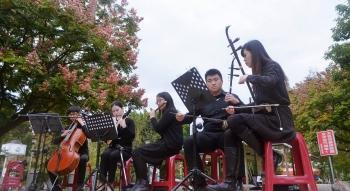 藝術在街角 九歌樂團傳播音樂種子