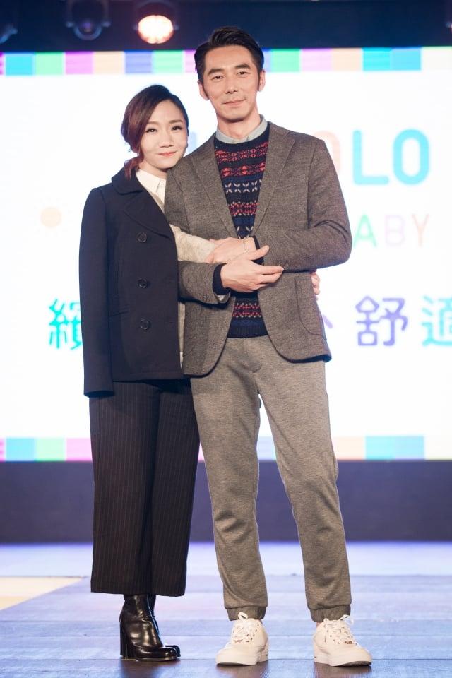(圖右起)李李仁、陶晶瑩。(記者陳柏州/攝影)