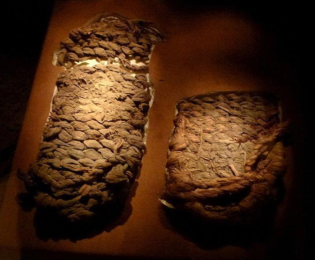 北美著名的考古學遺址羅克堡洞穴(Fort Rock Cave)曾發現史前人類的鞋,是用山艾樹樹皮編成的。(維基百科)