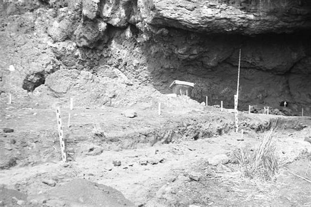 北美著名的考古學遺址羅克堡洞穴(Fort Rock Cave.(維基百科)