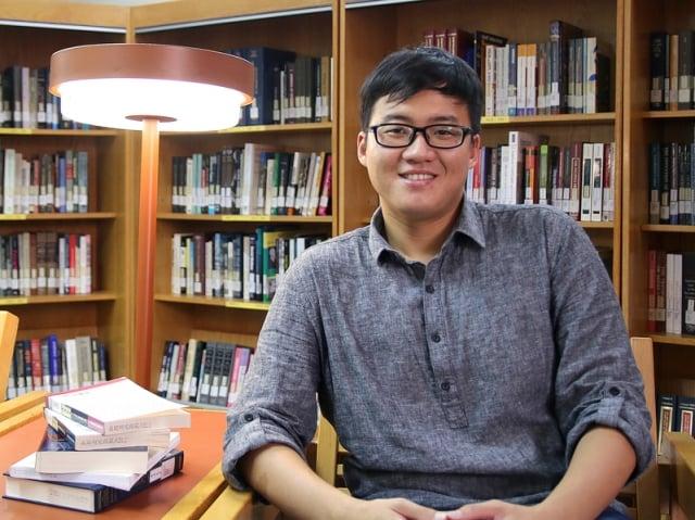 《職人》雜誌創辦人也是自由作家趙浩宏。(中正大學提供)