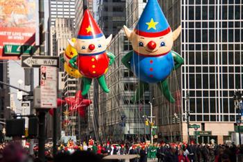 組圖:紐約梅西感恩節大遊行 300萬人現場觀賞