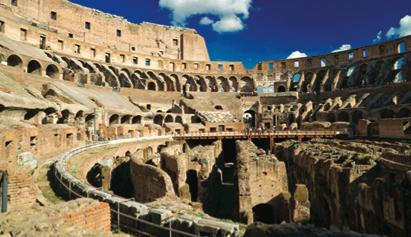 古羅馬圓形競技場。(Fotolia)