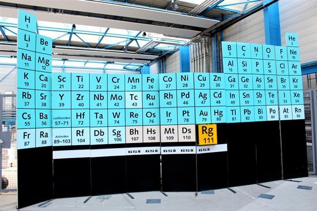 圖為化學《元素週期表》。(維基百科)