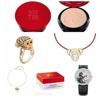 中國新年到 世界品牌掀猴年設計熱潮