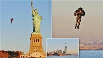 【影片】飛上天!輕巧飛行背包 自由女神前成功試飛