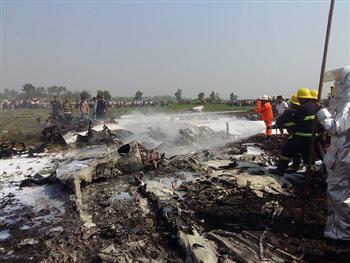 緬甸軍機墜毀 至少4人死