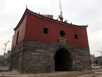 臺北北門暌違39年重見天日 清代古城門亮相
