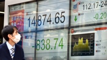 全球股市賣壓 日股大跌亞股同挫