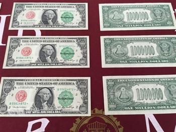 南投破獲偽造美鈔 面額高達100萬