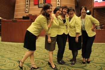 宜蘭縣議會開幕 5女議員到齊