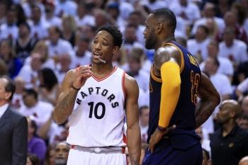 NBA季後賽/暴龍雙衛復活貢獻67分 送騎士2連敗