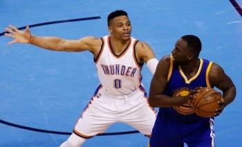 NBA季後賽/雷霆率先聽牌 勇士已無退路
