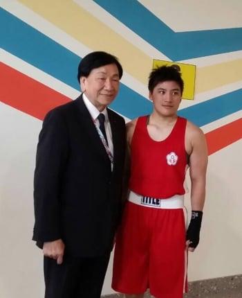 台灣第一人 陳念琴世界女子拳擊賽鍍銅
