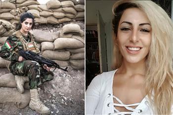 丹麥女生赴前線打擊IS:恐怖分子不堪一擊