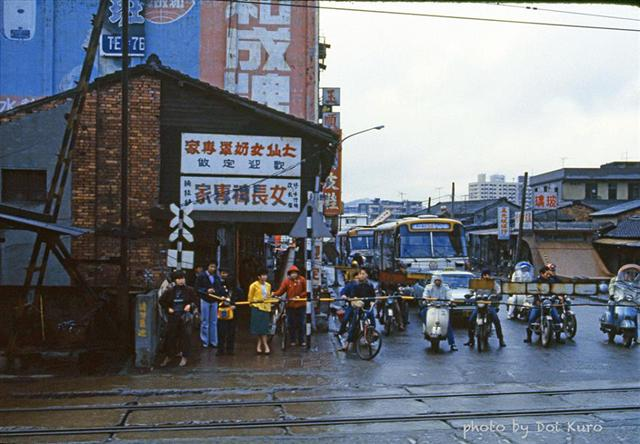 1984年台北虎林街口。(Doi Kuro提供)