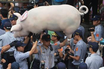 嘉義市開第一槍!率先通過反美豬自治條例