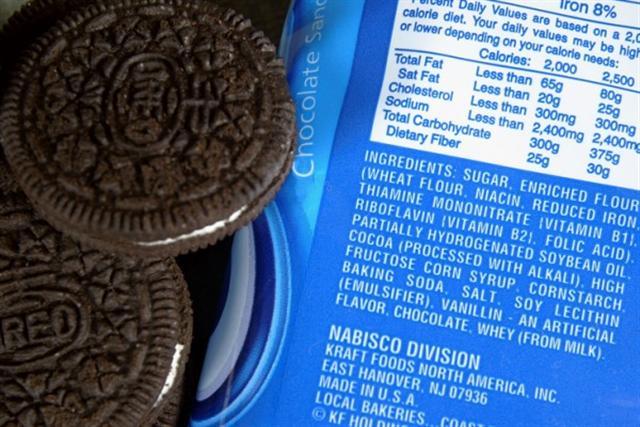 氫化油在市售克利架和餅乾中都有發現。(Justin Sullivan/Getty Images)