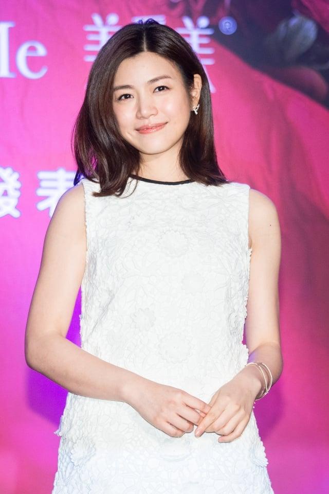 陳妍希嚮往海景婚紗,預計7月在北京、台北舉辦兩場婚宴。(記者陳柏州/攝影)