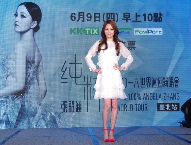 張韶涵將於7月3日登上台北小巨蛋舉辦演唱會。(記者黃宗茂/攝影)