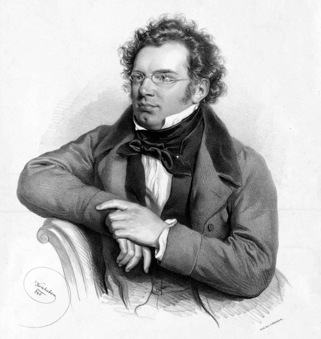 法蘭茲.舒伯特。(維基百科)