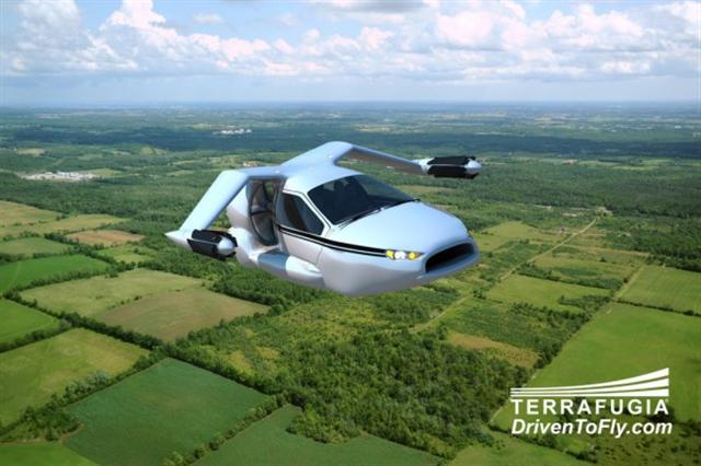 會飛的汽車TF-X,最高時速達每小時320公里。(Flickr)