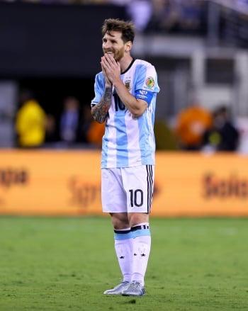足壇損失  梅西宣布退出國家隊