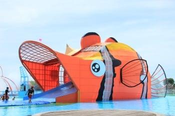 試玩童玩節 體驗水域遊戲區
