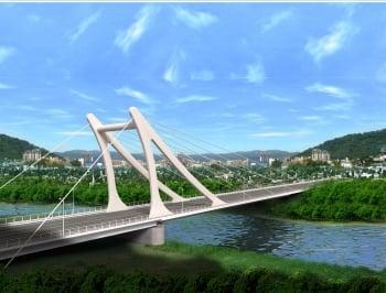 基隆市七賢橋改建  107年5月完工啟用