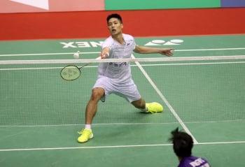 中華台北羽球公開賽 周天成逆轉晉4強