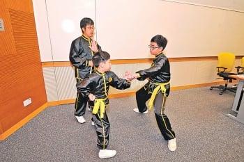 兒童學傳統武術 可減少攻擊行為