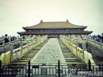 北京看海,故宮笑掉一嘴的老牙