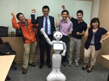 公部門首創 屏縣府引進機器人為民服務