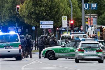 組圖:慕尼黑槍擊案9死 全城進入緊急狀態