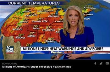 美數十州遭遇致命熱浪侵襲 下週將更悶熱