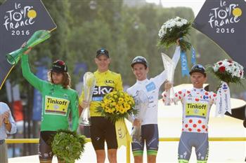 第103屆環法大賽 英國人弗洛姆第三次奪冠