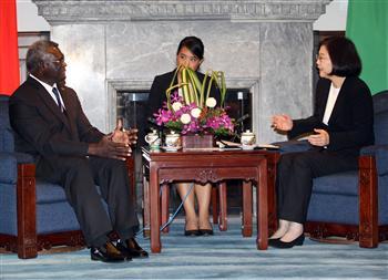 520後首友邦首長訪台 蔡總統感謝索羅門替台灣發聲