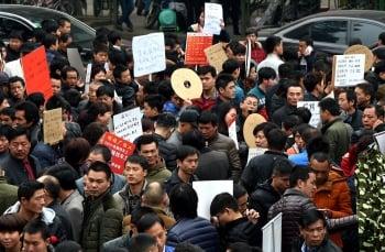 經濟增速趨緩 陸失業人口4年增3倍