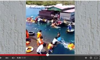 越南水上餐廳突然沉沒 300食客瞬間落水