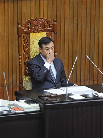 蘇嘉全:超越合理議事干擾是糟蹋立法院