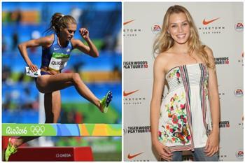 組圖:美麗超模勇登奧運3,000米障礙賽