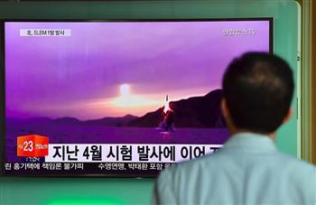 北韓潛艇海上發射潛射導彈 目標南韓
