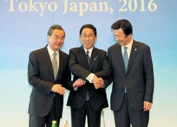 中日韓東京破冰 一致譴責北韓挑釁