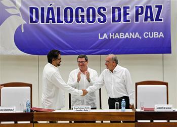 哥倫比亞與叛軍達協議 結束52年內戰