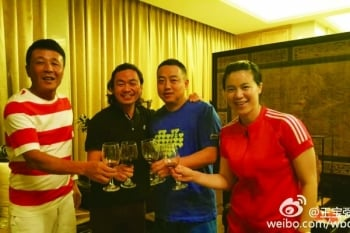 王寶強離婚後首發微博 邀兄弟舉杯其樂融融