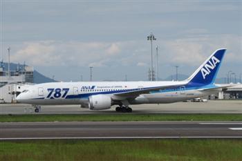 波音787客機引擎異常 全日空將取消300航班