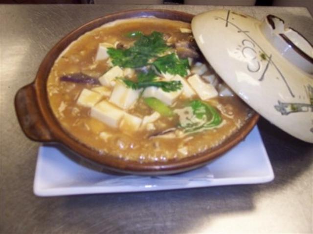鹹魚茄子豆腐煲。(大紀元圖片庫)