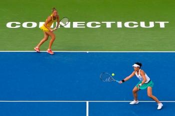 紐哈芬網賽/不敵世界雙打球后 莊佳容雙打亞軍